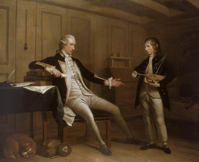 Mason_Chamberlin__Captain_John_Bentinck_1737-75_and_his_Son_William_Bentinck_1764-1813_c1775_01a